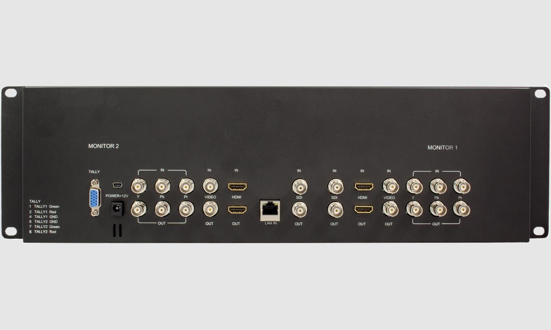 Mviw 070 X2 Rkbc 19 Quot 3u Rack Monitor Holding 2x 7 Quot Wide
